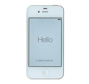 Apple iPhone 4S - 8GB - AT&T - White - GOOD CONDITION