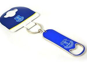 Everton FC metal keyring flat bottle opener (bst)