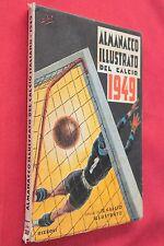 Almanacco Sportivo ALMANACCO DEL CALCIO ILLUSTRATO 1949