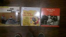 lot of 3 Original Soundtracks ! West Side Story, Fiddler on the Roof, King and I
