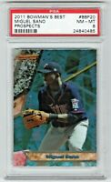 2011 Bowmans Best Prospects Miguel Sano Minnesota Twins Rookie RC PSA 8