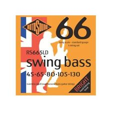 Rotosound RS665LD Swing Bass 66 Stainless Steel Electric Bass 5 String Set (4...