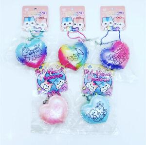 Poli Popularboxes Mini Squishy Heart Macaron Squishy Squeeze NEW