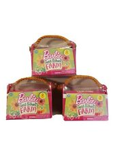 Barbie Lot Of 3 Sweet Orchard Farm Barn Animals Pets Series 1 Blind Pack