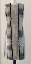 Calvin Klein Luxus Silk Seide Etui Dress Kleid DG italy it 44 UK 8