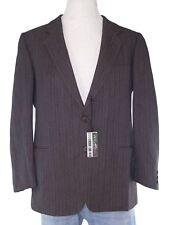lebole giacca blazer uomo grigio pura lana vergine tweed taglia it 50 l large