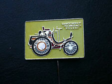 RARRE - OLD VINTAGE PIN BADGE - SAMOCHODEM PO DROGACH car club - Poland !