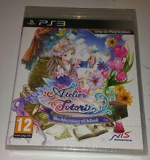 Atelier Totori die Abenteurer der Arland PS3 NEU Versiegelt UK PAL Sony Playstation 3