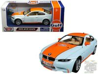 BMW M3 GULF LIVERY 1:24 Scale Diecast Toy Car Model Die Cast Miniature 3 series