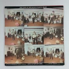 TALKING HEADS The Name Of This Band Is 2SR3590 Dbl LP Vinyl VG+ near ++ Sleeve