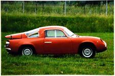 Cartolina Fotografica Abarth Bialbero - Club FIAT 600 Italia - Non Viaggiata