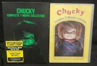 New Sealed Chucky: Complete 7-Movie Collection New DVD Boxed Set Limited Edition
