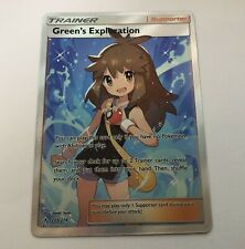 Pokemon Card Rev Holo Green's Exploration 175//214 Inc Free Card Deal