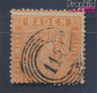 Baden 11a Pracht gestempelt 1860 Wappen (8357863