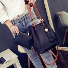 HoT PU Leather Shoulder Bag Tote Purse Crossbody Messenger Satchel Women Handbag