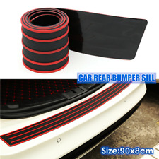 Car Trunk Anti-scratch Protective Slats Rear Bumper Sill Protector Plate Rubber