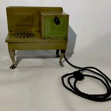 Antique Vintage Miniature Salesmans Sample Stove Oven Electric Childrens 1930