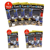 1&2&4 Everbrite Solar Powered & Wireless Led Outdoor Light AS SEEN ON TV