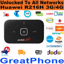 New Huawei R216H 3G / 4G Pocket WiFi Modem  - Unlocked to All Networks