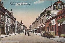 Belgrade Beograd AK pour 1915 prince-Michael-route serbie srbija 1606377