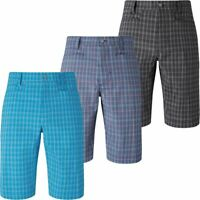 60% OFF Callaway Opti-Dri Stretch Performance Tech Micro Plaid Mens Golf Shorts