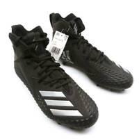 Adidas Mens Freak X Carbon Football Shoes Black CG4404 High Top Cleats 10 M New