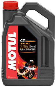 Aceite Motul 7100 20w50 4 litros 100%sintetico ¡ Envío 24h !