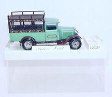 Solido France 1:43 Citroen C4-F Palace Hotel 1930 Truck Version: Green Mib`81!