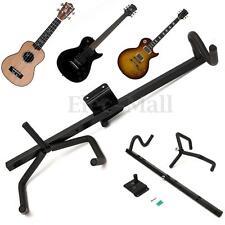 Horizontal Guitar Wall Hanger Bracket Electric Acoustic Bass Guitar & Ukulele