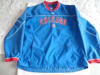 Vintage Chicago Cubs Reebok Mens Pullover Jacket Windbreaker Genuine Merchandise