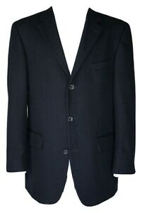 OSCAR DE LA RENTA Wool-Cashmere Blend Blazer Jacket SIZE US 42L/EUR 102