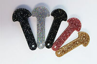 LIMITED EDITION Glitter Bling Shopping Trolley Release Key Fob, Token/Key Ring