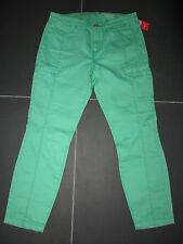ESPRIT-7/8-Coloured-Stretch-Jeans, Slim Fit, grün, Gr. 36 / Gr. S, **NEU**