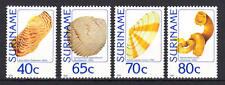 Surinam (Suriname) - Michel-Nr. 1071-1074 postfrisch/** (Muscheln und Schnecken)