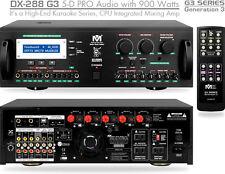New DX288 G3 Better Music Builder 900W KARAOKE CPU Mixing Amplifier AMP