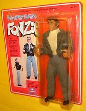 "HARBERT FONZIE HAPPY DAYS 8"" CARD FIGURE TvBOX 21cm doll FONZ FONZARELLI WINKLER"