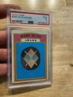 Babe Ruth 1972 PSA 5 Topps Great Bambino #626 New York Yankees Mantle Vintage NR