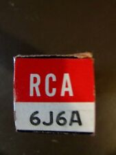 6J6A RCA VINTAGE VACUUM TUBE, (NEW IN BOX / NEW OLD STOCK)