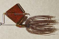 1/2 Oz. Custom Made Head Thumper Buzzbait(Watermelon/Red Flake)-Bass Fishing-NEW