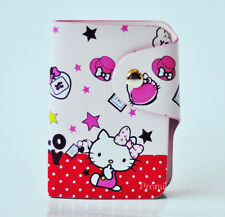 Cute Good For Hello Kitty Pu Leather Credit Card Membership Card Holder Bag Case