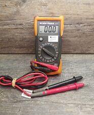 Klein Tools MM100 Manual Ranging Multimeter calibrated until 12-21-2018