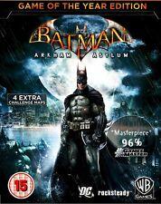 Batman Arkham Asylum Game of the Year PC (GOTY)  [Steam Key] No Disc/Box