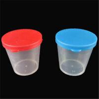 5/10/20X 40ml Plastic Specimen Sample Jar Craft Container Urine Pot Cup W/ Lid