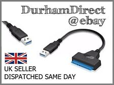 """USB 3.0 to SATA 2.5"""" SSD/Hard Drive Disk Adapter Cable / HDD Transfer Cable"""
