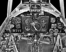 RAF WW2 Hawker Hurricane Fighter Cockpit 8x10 Photo