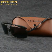 KEITHION Mens Polarized Sunglasses UV400 Outdoor Sports Driving Glasses Eyewear