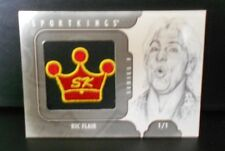 Ric Flair 2013 Sport Kings SK LOGO PATCH SP 1/1 Wrestling