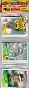 1985 Topps 48 Card Rack Pack. ROGER CLEMENS or KIRBY PUCKETT RC?