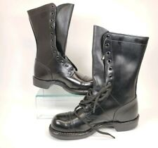NEW Corcoran 1515 Womens 9.5 Mens 7.5 Black Leather Military CapToe Jump Boots
