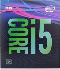 Intel i5 9400F 9th Gen 6 Core 2.9Ghz CPU (BX80684I59400F)